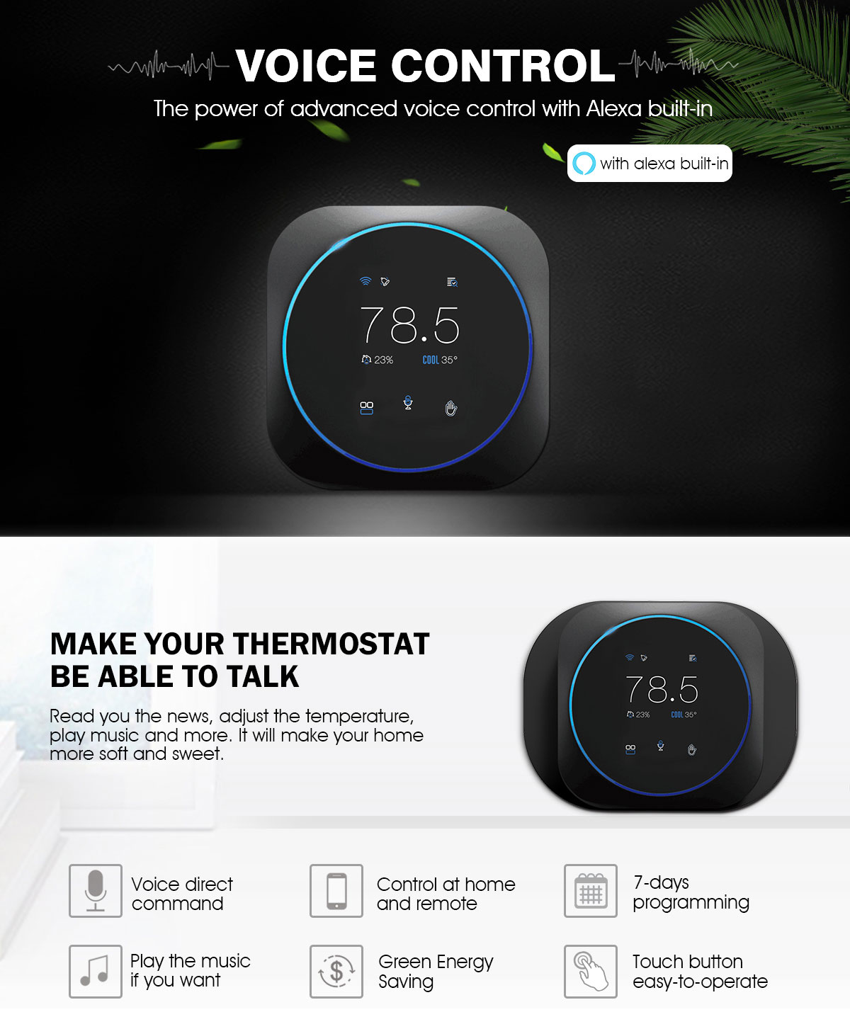 Tuya smart Thermostat supplier