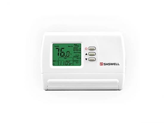 wired digital room thermostat