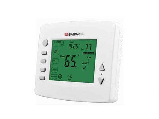 3 Heat/2 Cool universal thermostat,3 heat 2 cool programmable thermostat,3 heat 2 cool heat pump thermostat