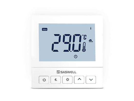 Thermostat programmable sans fil de 7 jours